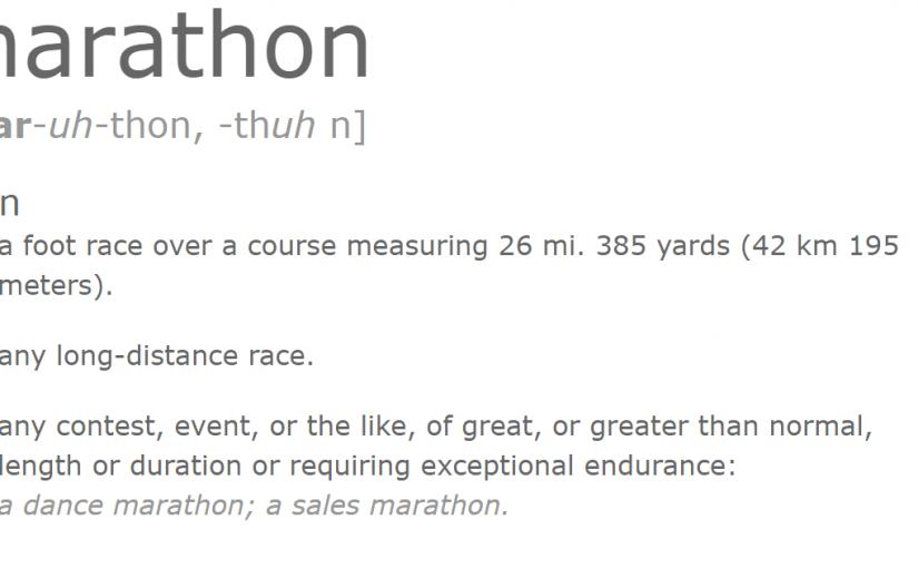 Movie Marathon Definition