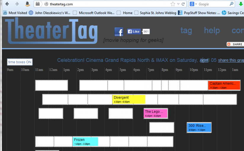 Movie Marathon Scheduler for Movie Theaters