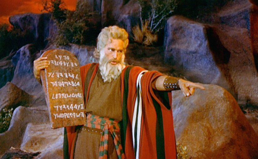 The Ten Commandments Still Image
