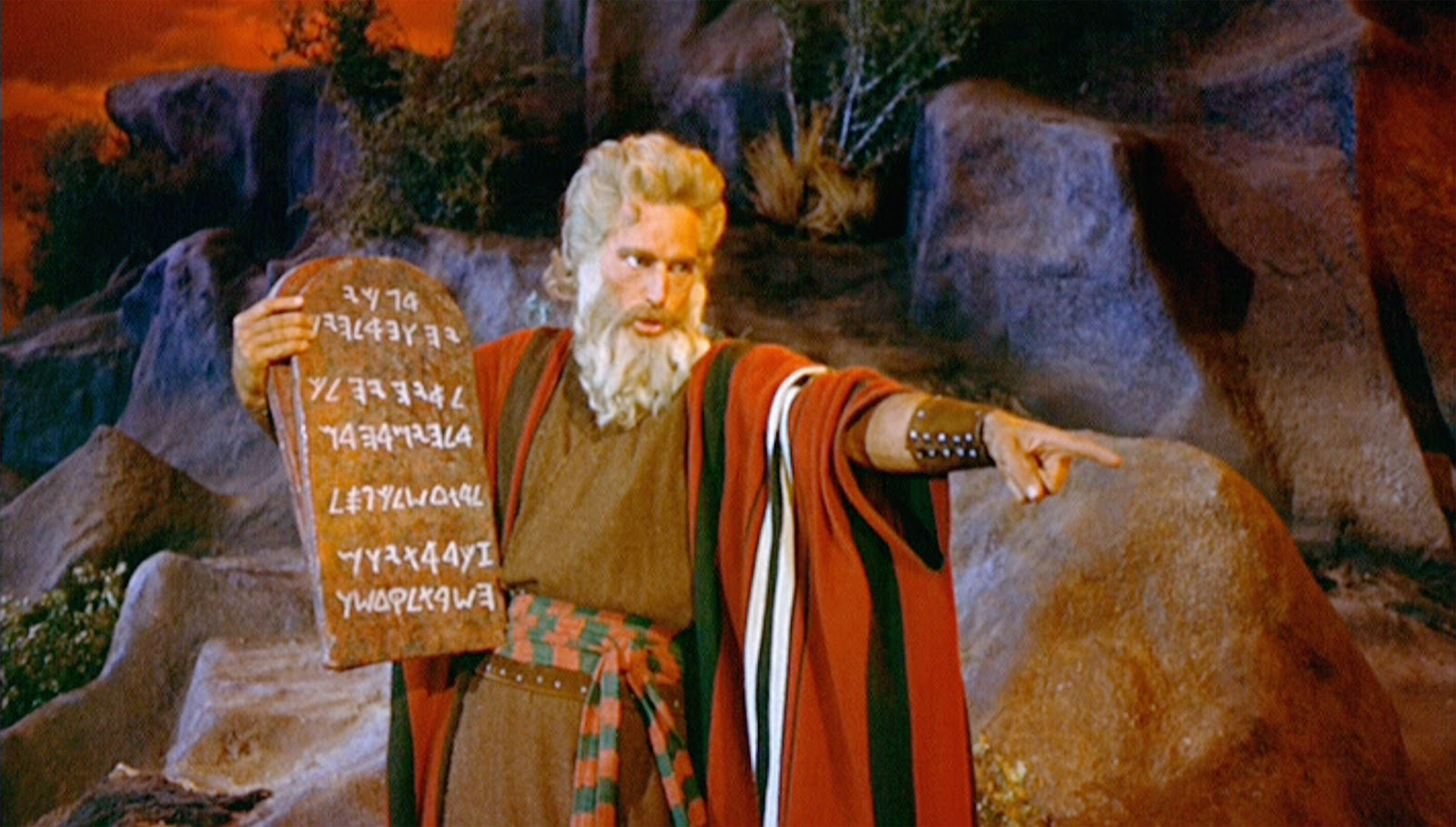 The Ten Commandments Still Image