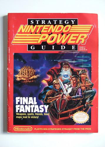 Nintendo Power - Final Fantasy Guide