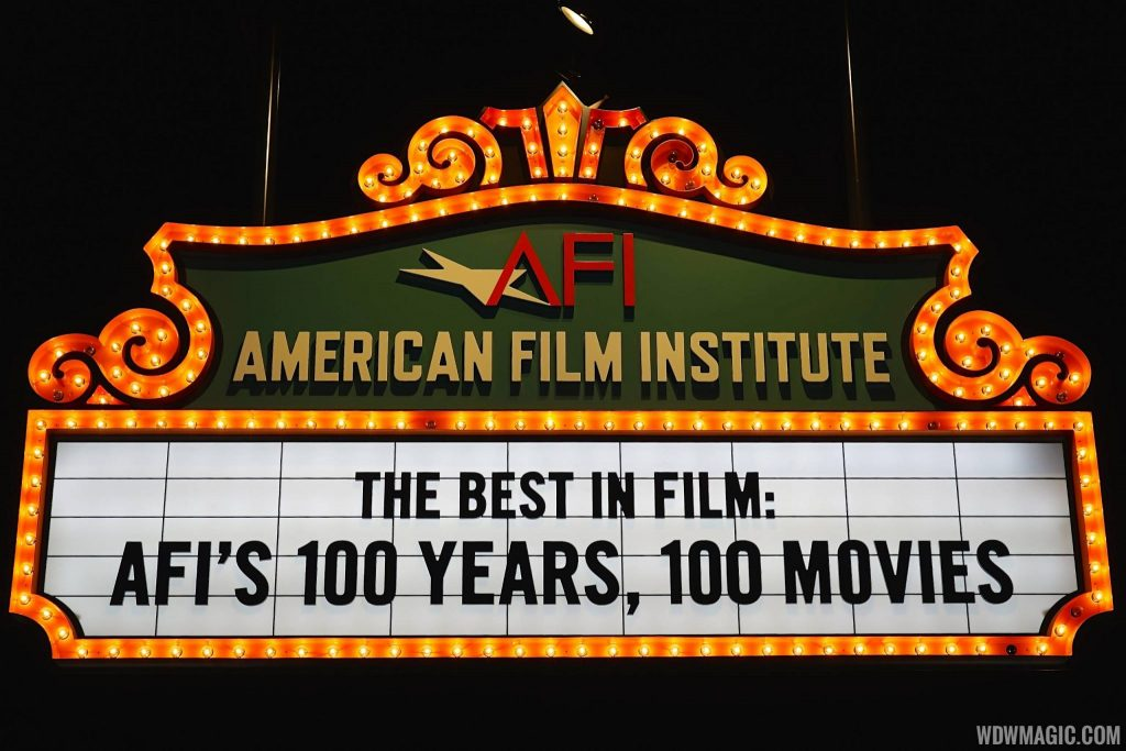 American Film Institute's Top 100 Movies