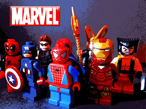 Lego Marvel Characters