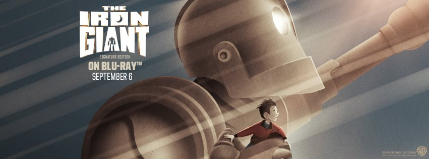 The Iron Giant Blu Ray Poster