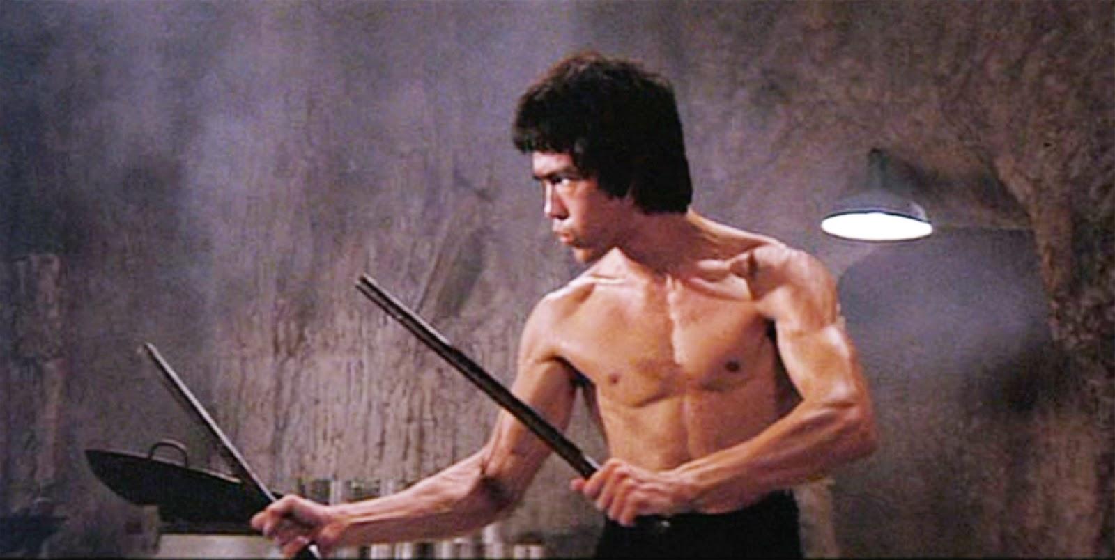 Bruce Lee Still Shot