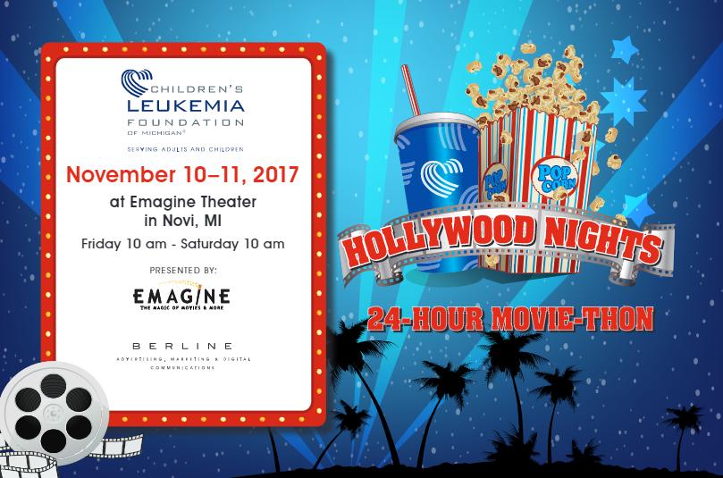 Children's Leukemia Foundation of Michigan 2017 Movie Marathon
