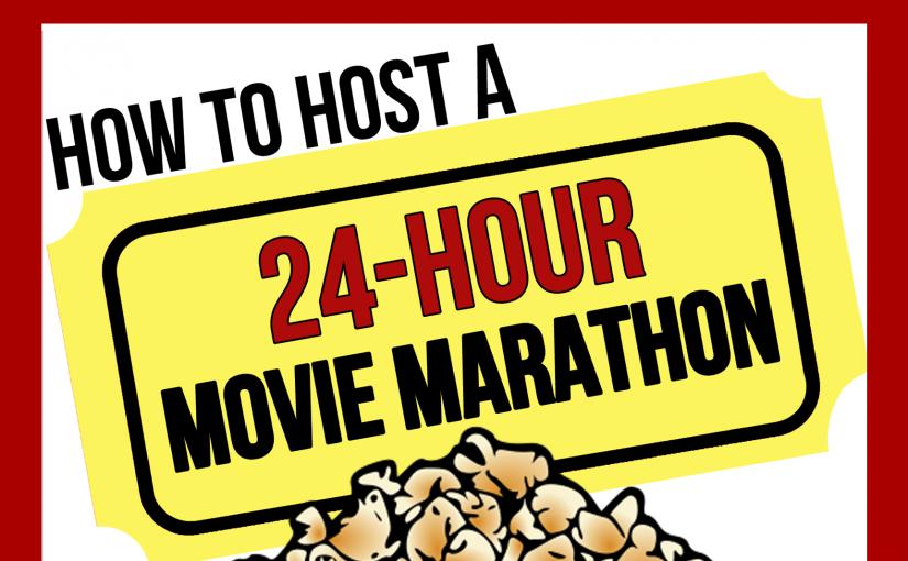 Movie Marathon Book – 3rd Edition!