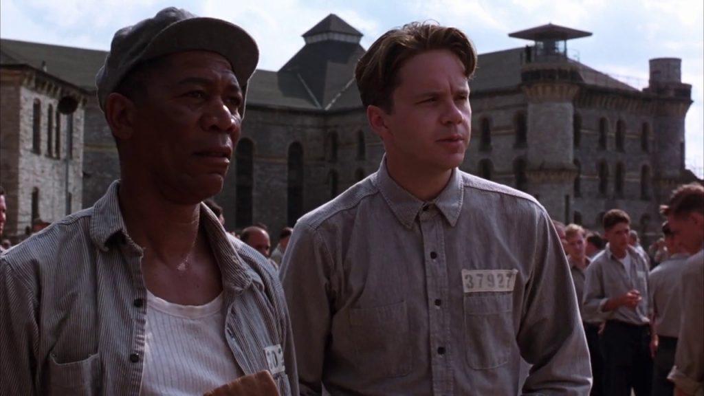 Shawshank Redemption Still Shot