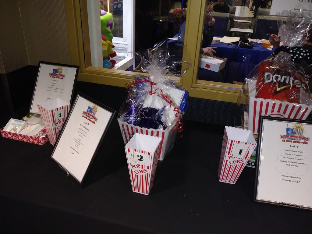 Hollywood Nights 2018 - Raffle Prizes 1, 2, and 3