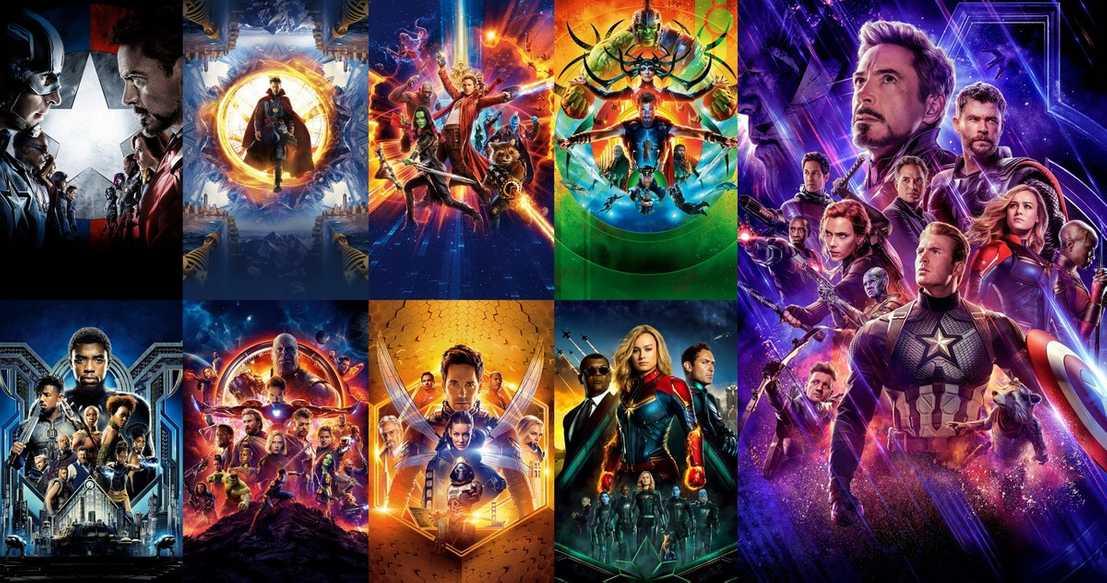 Marvel Movie Marathon Posters