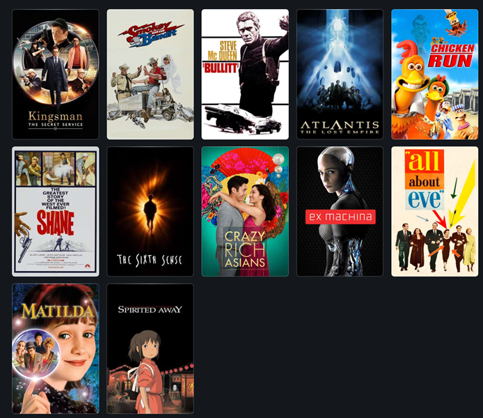 Movie Marathon 2019, in Letterboxd list form!