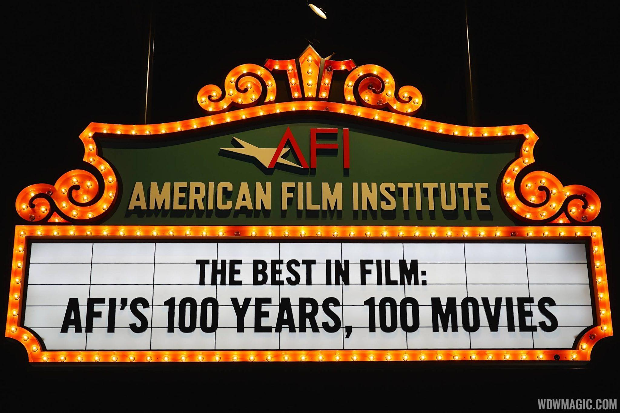 American Film Institute's Top 100 Movies