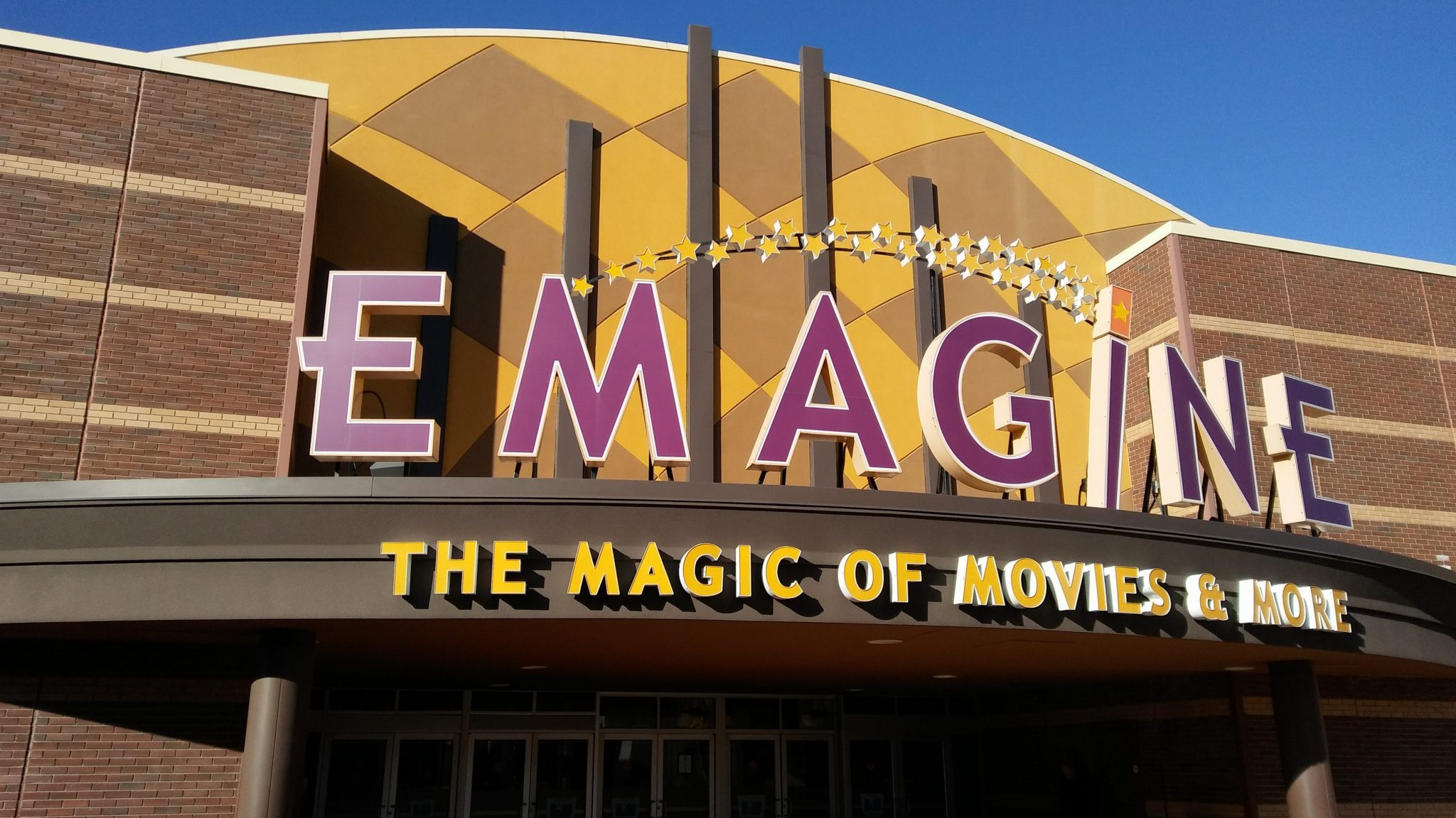 Emagine Theater Entrance