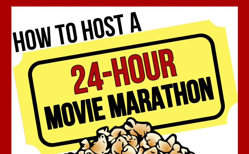 Movie Marathon Book – 3rd Edition!